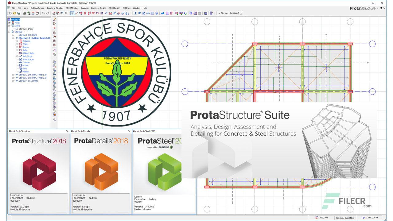 تحميل برنامج ProtaStructure Suite Enterprise 2018 2018.4 برابط مباشر